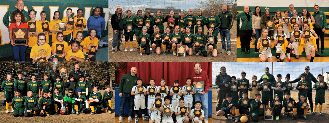 CYO Sports teams from St. Andrew Avellino Catholic Academy