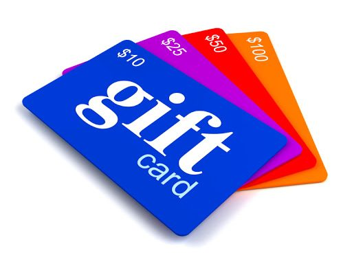 clipart of gift cards