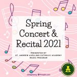 Spring concert and recital 2021 image